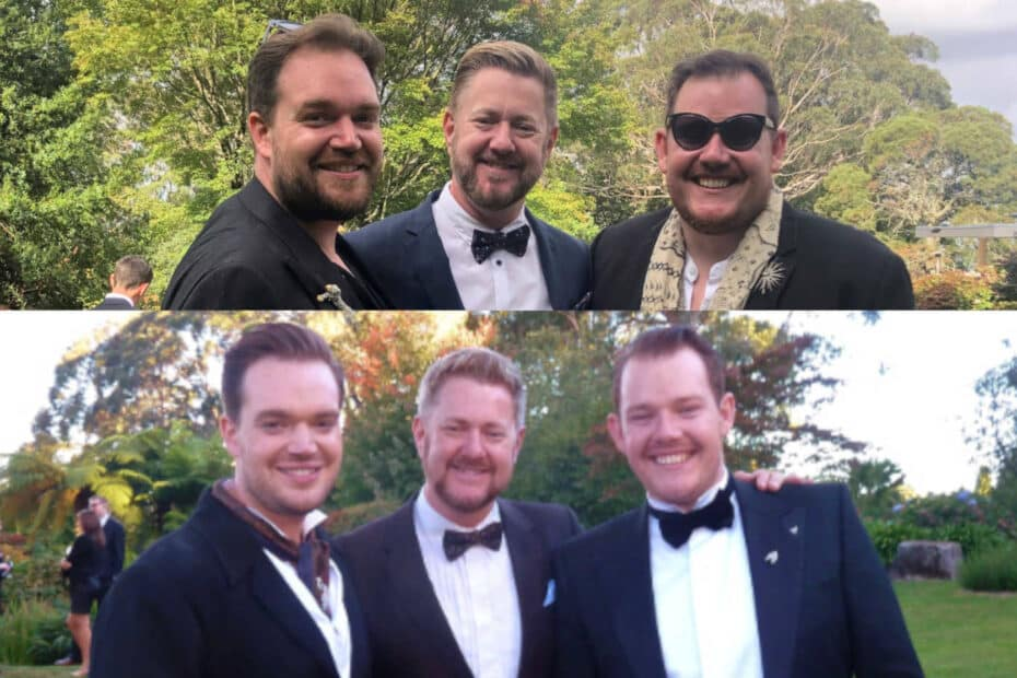 Now and Then - Stephen Lee Marriage Celebrant Sydney