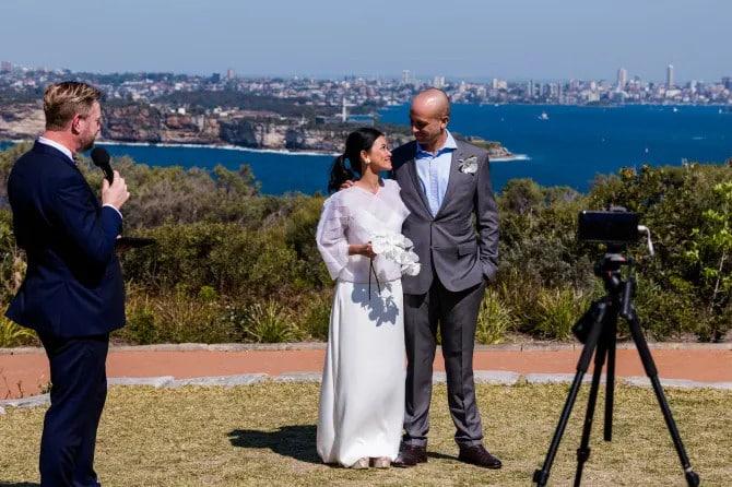 Weddings return after COVID - Stephen Lee Sydney Marriage Celebrant